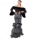 faldas de rayas flamencas