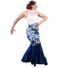 Falda de Baile Flamenco de Terciopelo - Novedad 2020