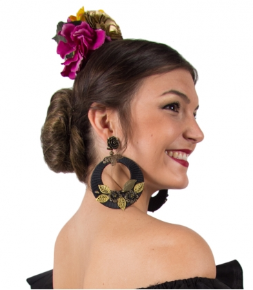 pendientes flamencos