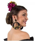 Pendientes Flamencos Forrados