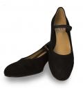 Zapato Amateur de Ante con elástico