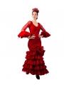 Traje de Flamenca 2020, Talla 46 (XL)