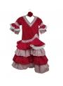 Vestido de sevillana para niña