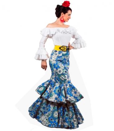 Falda flamenca en oferta