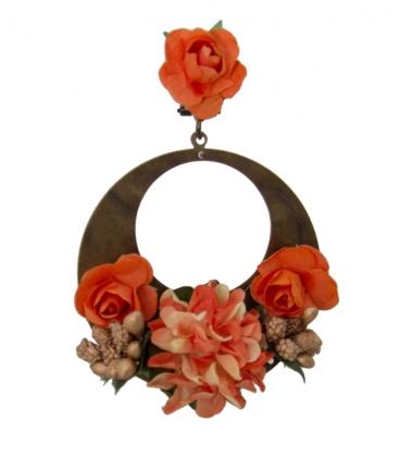 Pendientes flamencos para mujer
