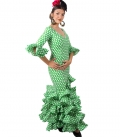 Vestido de Flamenca en oferta, Talla 56