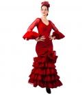 Traje Flamenca 2020, Talla 50 (2XL)