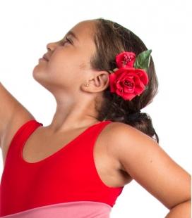 flores de flamenca para niñas