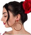Pendiente de Flamenco de Aro