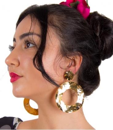 pendientes de flamencas de aros