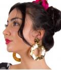 Pendiente de Flamenca de Aros