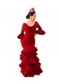 Vestido De Flamenca, Talla 38 (M)