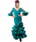 Vestido de flamenca, Talla 40 (M)