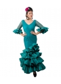 Vestido De Gitana, Talla 38 (M)