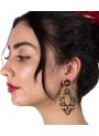 Pendiente de Flamenca de Filigrana