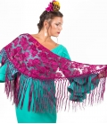 Mantón Flamenco Pequeño Calado