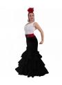 Faldas de Flamenca Azucena, Talla 2XL