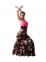 Falda de baile modelo Carmen Estampada