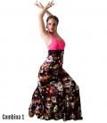 faldas de flamenco estampadas