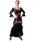 falda de baile taconeo estampada