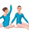 Maillot de baile para niña mod. 1005 (licra)