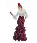 Faldas Flamencas Azucena, C/Alta
