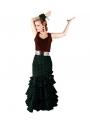 Falda de Flamenca, Talla XS