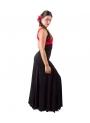 Faldas De Baile Flamenco 4 Godet Cintura Alta