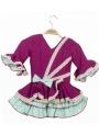 Vestidos de Flamenca para Niñas, Talla 02