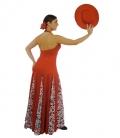 Vestido de flamenca E3666