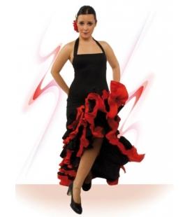 Vestido baile flamenco E4393