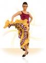 Vestido de baile flamenco E-4503