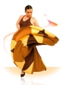 Vestidos flamenca E44541
