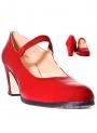 Zapato baile de piel