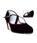 Zapato Flamenco Ante, Tiras Cruzadas