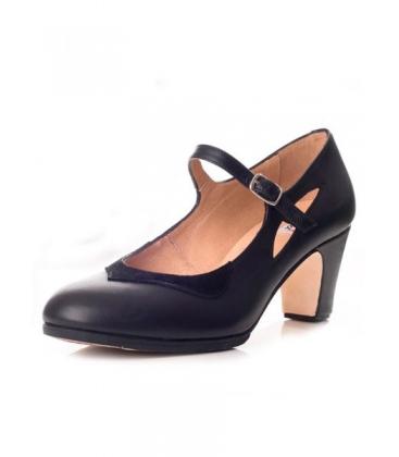 3ab20dae Zapato de baile flamenco confeccionado en ante modelo 573062-P