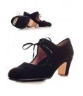 Zapato Flamenco Ante, con lazada central
