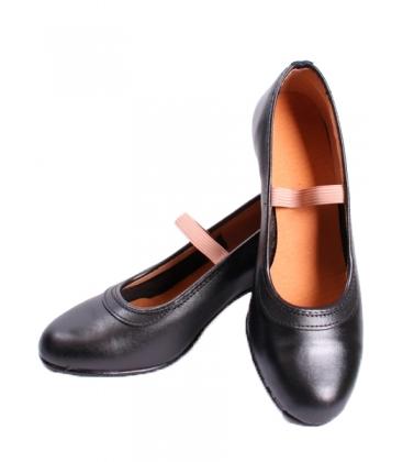 07824a9f1 Zapatos de Flamenco de Piel con Clavos