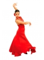 Falda flamenca mod. EF065 niña