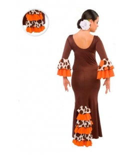 Falda de flamenco niña mod. EF072