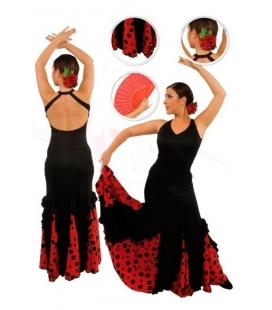 Falda de flamenco niña mod. EF077