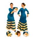 Falda flamenca niña mod. EF084