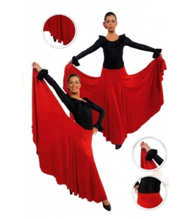 Falda de flamenco niña mod. EF105