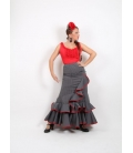 Falda flamenca camino