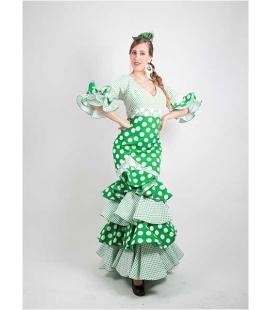 Trajes de Flamenca Sra. Pétalo-Ruedo