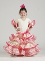 Trajes flamenca niña Aurora