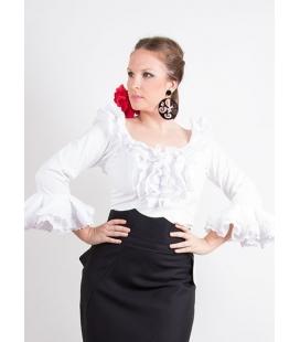 Blusa flamenca licra c/m sra.