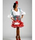 Falda flamenca tamara normal sra