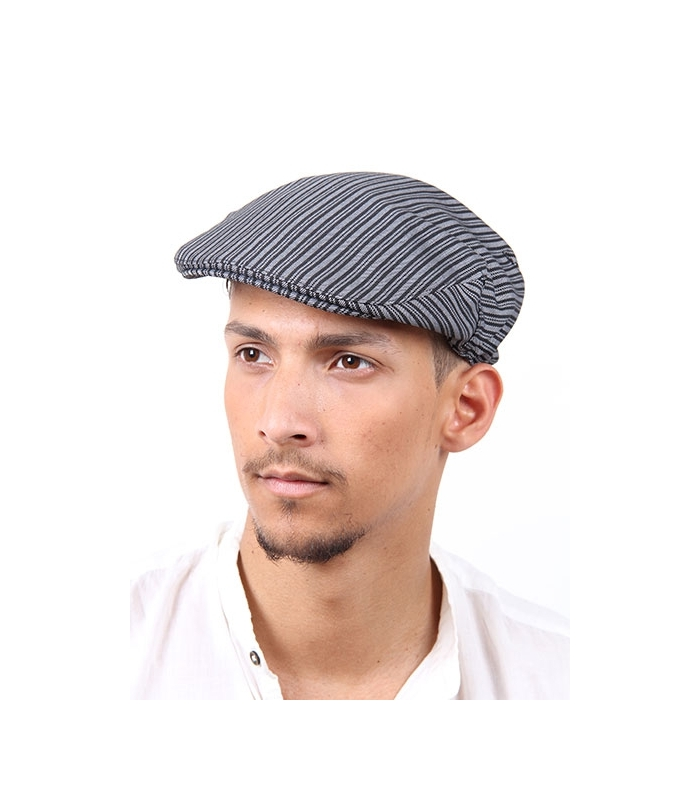 Gorra campera de rayas o gorra flamenca 1761e1ac375