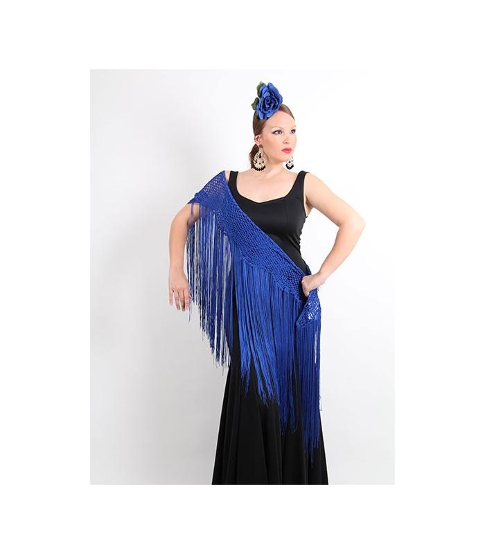 3a150efd9 Mantón de crochet para traje de flamenca - Complementos El Rocio